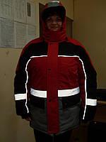 Куртка утепленная - для работы в условиях плохой видимости