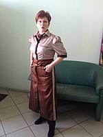 Униформа официанта,комплект для обслуживающего персонала,блуза и фартук