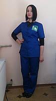 Костюм-клининг,комплект горничной,куртка и брюки для обслуживающего персонала