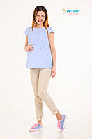 Модные брючки для беременных Skinny Vinny кофейная пенка