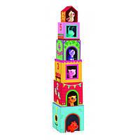DJECO Игра Топанимо ферма 6 кубиков+6 животных, фото 1