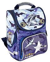 """Рюкзак школьный ортопедический CF85827 """"Aircraft"""" Cool For School"""