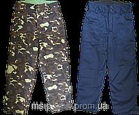 Брюки утепленные, штаны ватные, рабочие брюки зимние