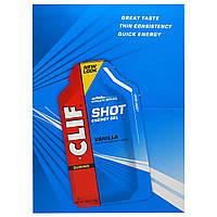 Clif Bar, Энергетический гель Clif Shot, ваниль, 24 пакетика, каждый пакетик по 1,2 унции (34 г)