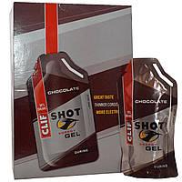 Clif Bar, Энергетический гель Шот, шоколад, 24 пакетика, по 1,2 унции (34 г) каждый