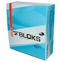 Clif Bar, Энергетические жевательные леденцы Шот Блокс, вкус тропического пунша + кофеин, 18 пакетиков, по 2,1 унции (60 г) каждый
