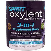 Vitalah, Питьевая диетическая добавка 3 в 1 со вкусом черничного взрыва, 7,8 унции (222 г)