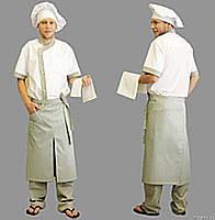 Комплект повара, поварская форма, униформа пекаря, костюм шеф-повара