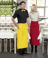 Рубашка и фартук для официантов, униформа для барменов