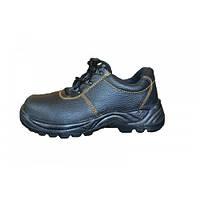 Полуботинки мужские, ботинки рабочие, полуботинки рабочие на полиуритане, юфтевые, демисезонные