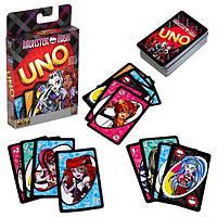 Карты Уно Школа монстров UNO Monster High. Mattel