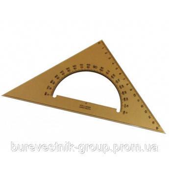 Транспортир с треугольником  Koh-I-Noor (745640)