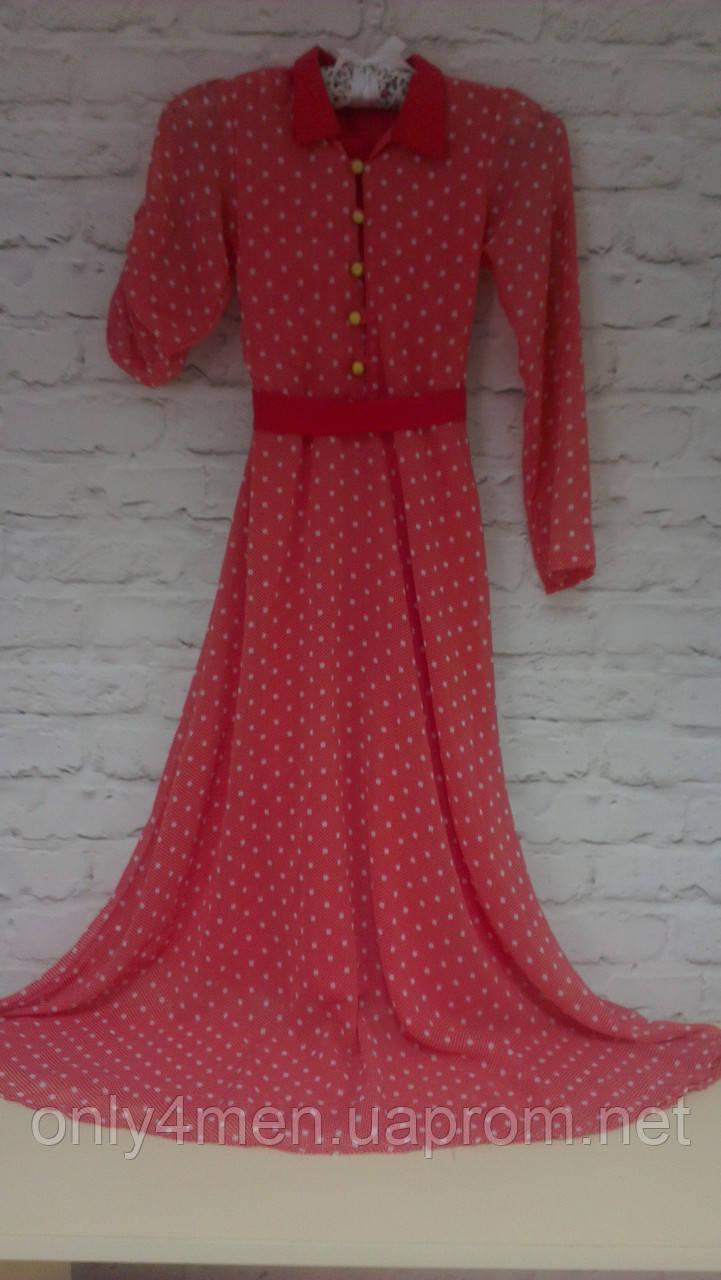 Яркое летнее платье для девочек.