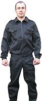 Костюм черный для охраны, униформа для секьюрити