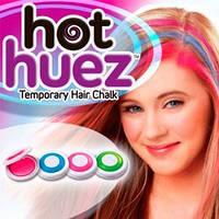 Цветные мелки для волос Hot Huez, Хот Хьюз