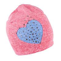 Шапка трикотажная для девочки TuTu 49 арт. 3-003647(52-56), фото 1