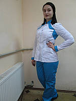 Костюм медицинский: куртка и брюки