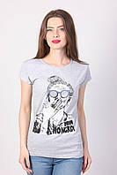 Молодежная футболка с принтом