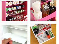 Компактный органайзер для косметики Cosmake Lipstick & Nail Polish Organizer