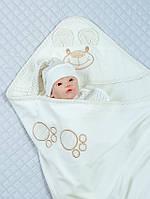"""Летний конверт одеяло для новорожденного """"Мишутка"""", фото 1"""