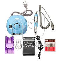 Фрезерная машина Nail Drill Pro ZS-601 на 30 Вт и 35 000 об./мин. (blue)