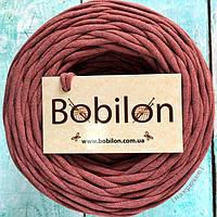 Трикотажная пряжа Bobilon, цвет бородвый меланж