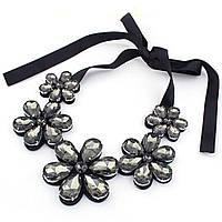 Воротничок ожерелье женское Цветы