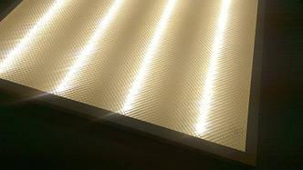Светодиодная LED панель 40Вт 3100lm 5000К ВСТРАИВАЕМАЯ 600х600х9мм Prismatic SL (колотый лед)
