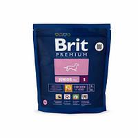 Brit Premium Junior Small корм для щенков мелких пород, 1 кг