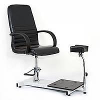 Кресло педикюрное Jetta  Черное