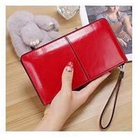 Красный женский клатч Red Style