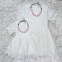 Белые детские платья