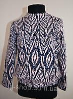 Детский свитер/кофта, теплый, зимний, для девочки, 110, 116,122,128 размер