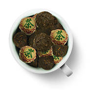 Чай Шу Пуэр прессованный Сяо То (мини- точа) 250г