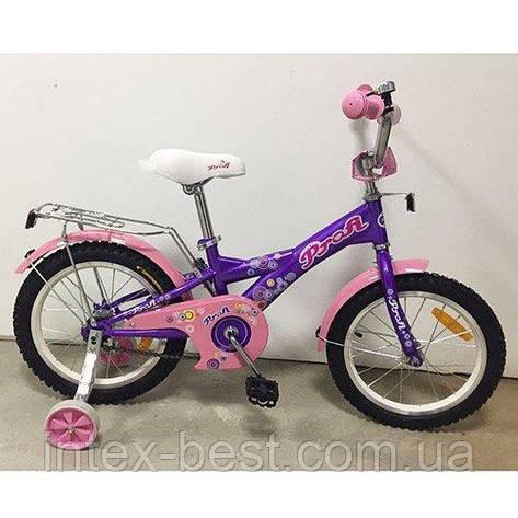 """Детский двухколесный велосипед Profi Original girl 16"""" G1663, фото 2"""