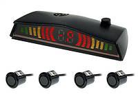 Парктроник CYCLON SE-4F (ET-600) black + бесплатная доставка по УКРАИНЕ