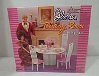 Набор мебели для кукол «Столовая»| «Gloria»