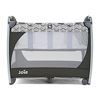 Манеж детский Joie - Excursion Change & Bounce, Tan Stripe/Brown,