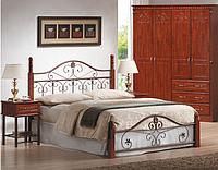 Кованая деревянная кровать Sophia