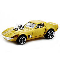 """Машина """"Хот Вилс"""" 68 Corvette - Gas Monkey Garage, 1:64"""