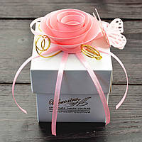 """Набор элитных шоколадных конфет """"Дражелино розовое удовольствие"""". Размер: 62х62х62мм,вес 80г, фото 1"""
