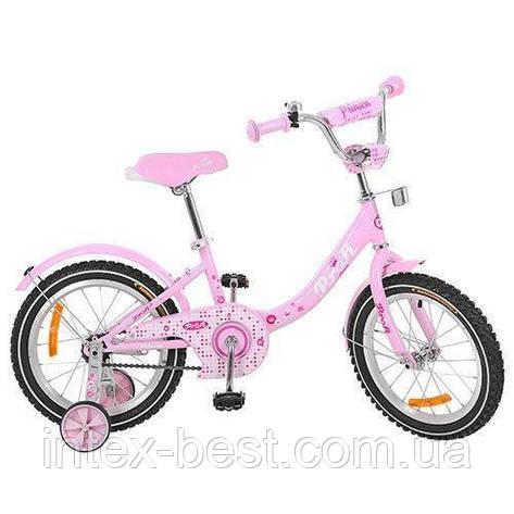 """Двухколесный велосипед Profi Princess 18"""" G1811 (Розовый) , фото 2"""