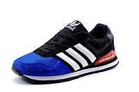 Кроссовки унисекс  Adidas ZX Racer синие с черным, р. 36 37 38 39 40 41