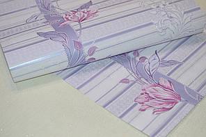 Обои, цветы, крупный рисунок, акрил на бумажной основе, B76,4 Марго 7019-03, 0,53*10м, фото 2