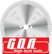 Основная пила  для раскроя ламинированного ДСП  на станках с подрезным узлом,  D = 250 мм  (GDA, Италия)