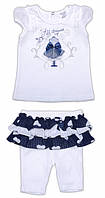 Футболка и шортики для девочки 68-86