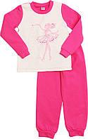 Пижамка для девочки теплая (2-5 лет)