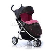 Детская прогулочная коляска Geoby C409-RMTP черный с красным