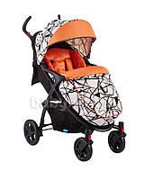 Прогулочная коляска Geoby C409M-W4FU оранжевый