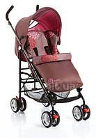 Прогулочная коляска Geoby D388W-F-WHSС бордовый